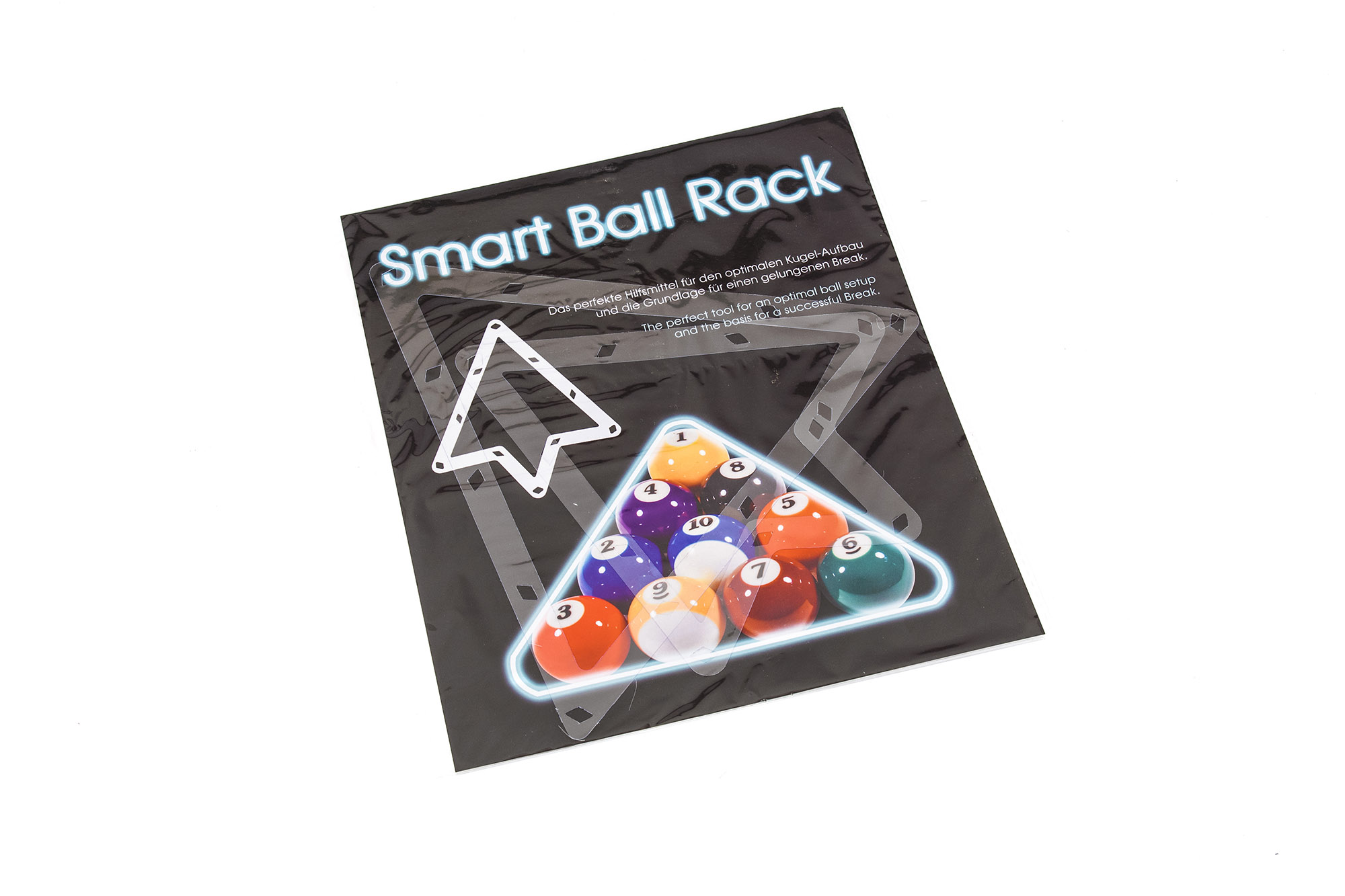 Stavítko Smart Ball Rack Pro - PVC - 2 ks - 8,9,10 ball